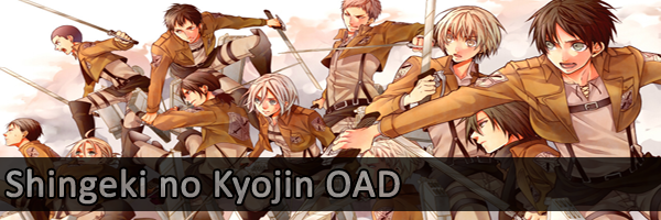 Shingeki no kyoji OAD